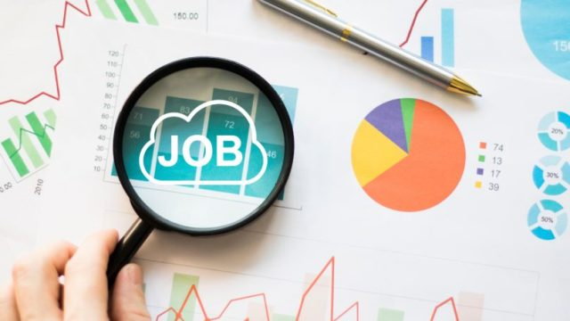 Searching For Job Cloud Online Statistics For Employment