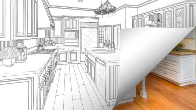 Flipping House Kitchen Renovation Interior Design