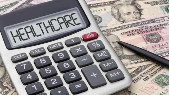 Healthcare Calculator Money Bills Expense