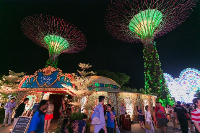 (Photo credit: Gardens by the Bay)