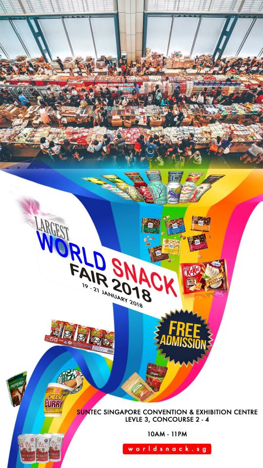 One of the biggest Snack Fair is coming to Singapore