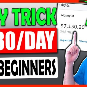 Earn $230 Daily - FREE Make Money Online TRICK For Beginners To Get FAST Results! (WORLDWIDE)