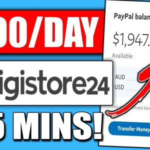 Earn $300/Day in 5 Minutes | Digistore24 Tutorial for Beginners (Digistore24 Affiliate Marketing)