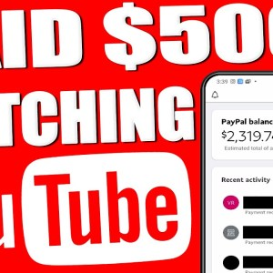 Make Money Online Watching YouTube Videos (AVAILABLE WORLDWIDE)