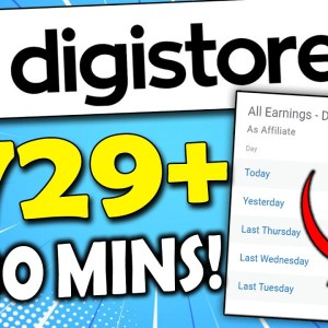 Make $729/Day in 30 Minutes | Digistore24 Tutorial for Beginners (Digistore24 Affiliate Marketing)
