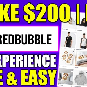How To Make Money With Print On Demand & Earn $200 A Day (Start a Print On Demand Business)