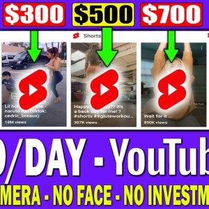 How to Make Money With YouTube Shorts Videos and Get Them Monetised FAST! (YouTube Shorts Tutorial)