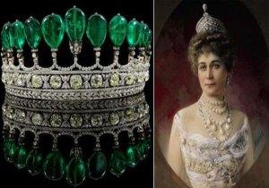The Henckel von Donnersmarck Emerald Tiara