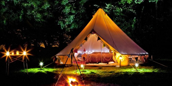 "Is Your Next Vacation a ""Glamping Getaway?"""