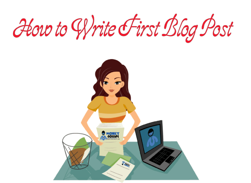 How to Write First Blog post