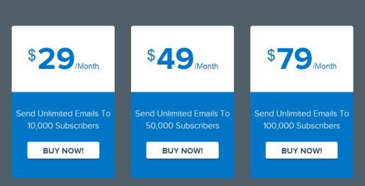 MailGet Review Pricing
