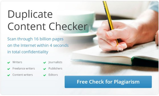 Online Plagiarism Detection