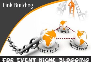 Build Backlinks Event Niche Blogging