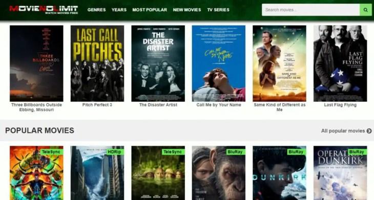 free movie streaming website