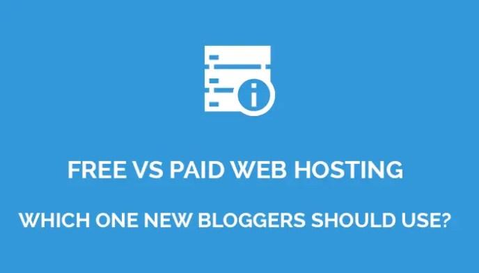 Free Web Hosting Vs Paid Web Hosting