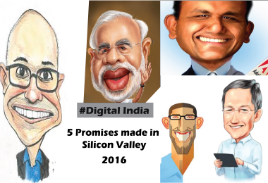 5 Promises Made by Top CEO's to PM narendra Modi in Silicon Valley