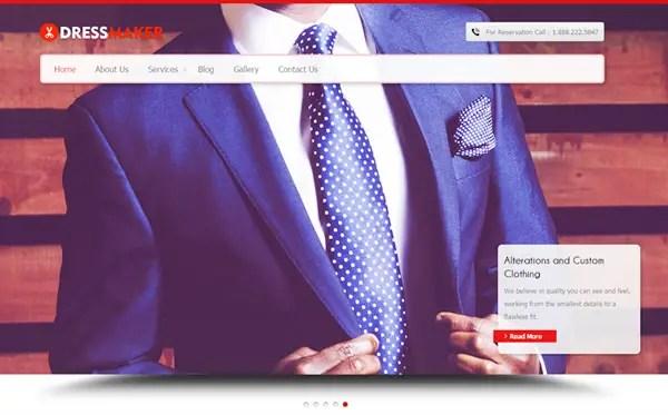 dressMaker WordPress Theme