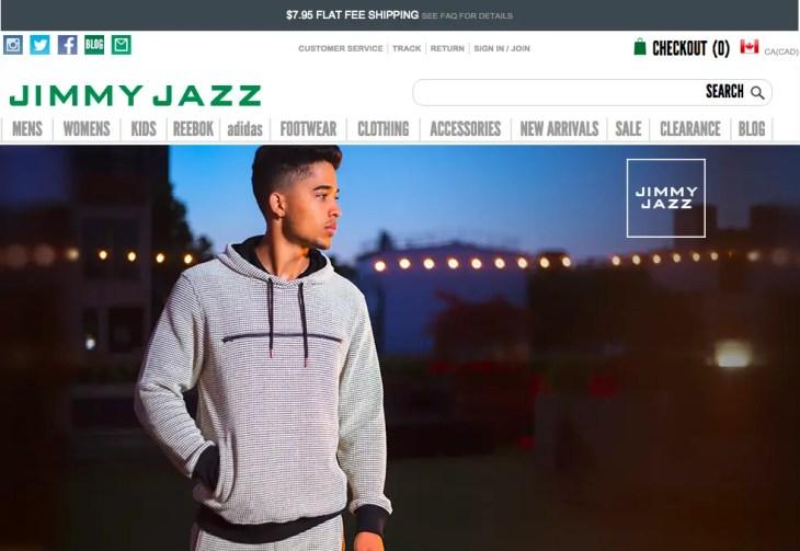 JimmyJazz Homepage
