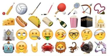 iOS 9.1 new emoji Update