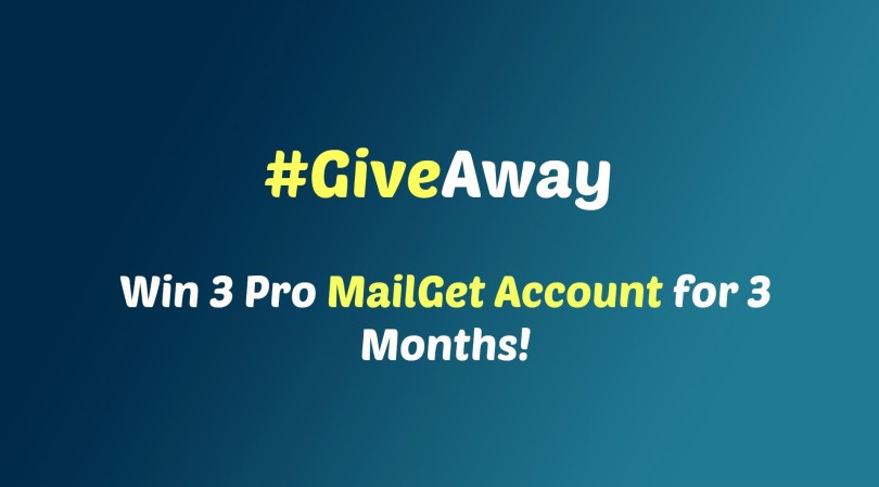 MailGet Giveaway 2015