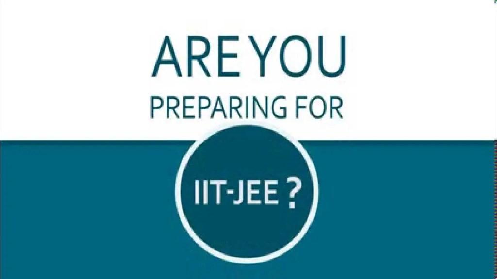 Prepration for IIT JEE