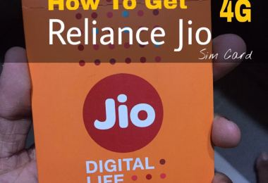 How to get RelianQce Jio 4G sim for free