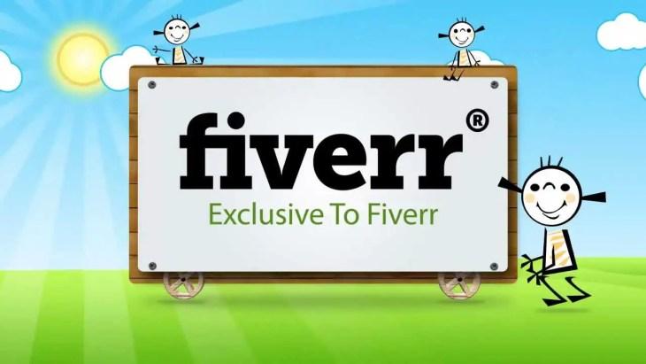 Offer Service on Fiverr
