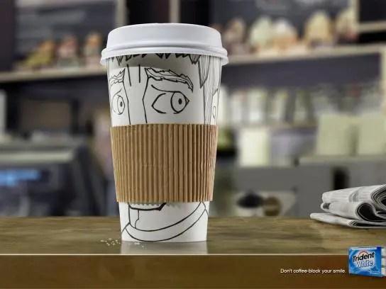 Coffee Sleeve Advertisement