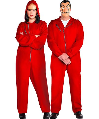 Money Heist Costume For Adults and Couples