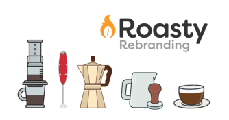 Roasty Coffee Rebranding
