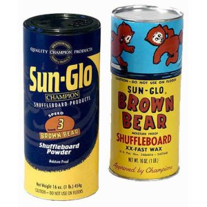 12 Cans Of Speed 3 Brown Bear Shuffleboard Wax | moneymachines.com