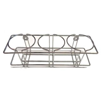 Chrome Metal Beverage Rack | moneymachines.com
