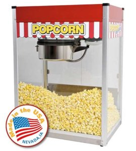 Classic Pop Popcorn Popper Machine | moneymachines.com
