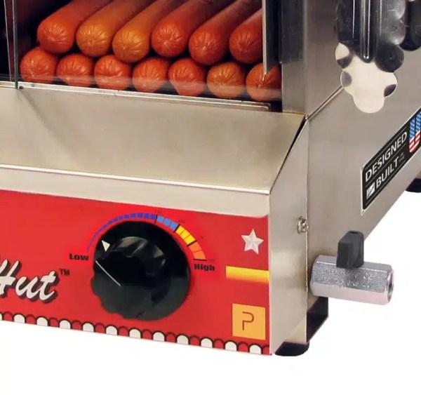 Dog Hut Hot Dog Machine Temperature Control   moneymachines.com