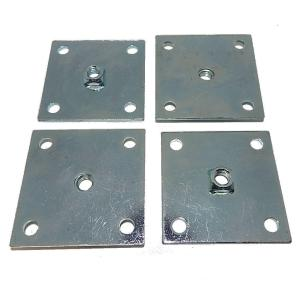 Heavy Duty Leg Leveler Base Plates for Arcade Game Cabinets | moneymachines.com
