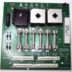 New Pinball Electronic MPU, Power Supply and Solenoid Driver Boards