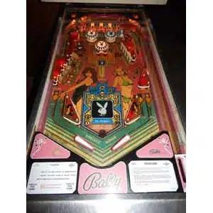 Used Bally Playboy Pinball Machine Play Field | moneymachines.com