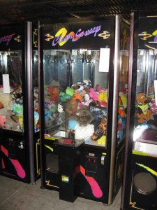 Used Skill Claw Game Machines | moneymachines.com