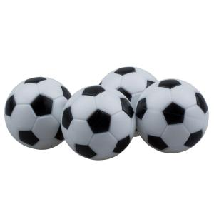 Foosball Table Checkered Soccer Balls - Set of 4 | moneymachines.com