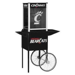 Cincinnati NCAA College Logo Popcorn Machine | moneymachines.com