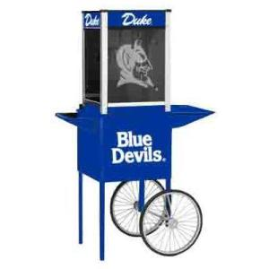 Duke NCAA College Logo Popcorn Machine | moneymachines.com