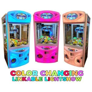 Fun Zone Color Changing Crane Game Machines | moneymachines.com