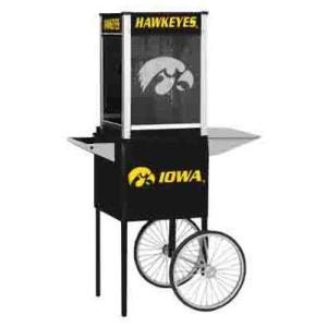 Iowa NCAA College Logo Popcorn Machine | moneymachines.com