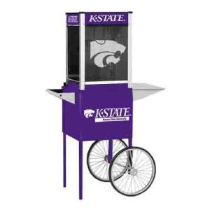 Kansas State NCAA College Logo Popcorn Machine
