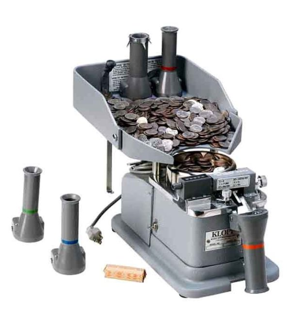 Klopp CE Electric Coin Counter, Wrapper And Bagger | moneymachines.com
