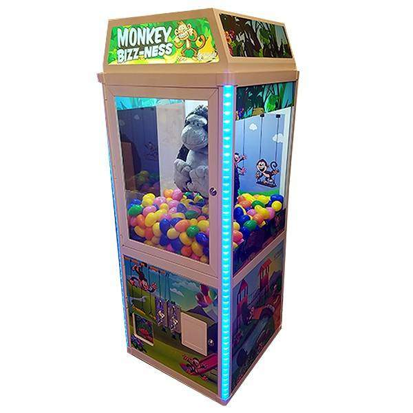 Monkey Bizz-ness Prize Vendor | moneymachines.com