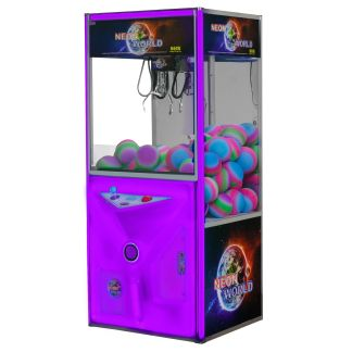 Neon World - Changing Color Lighted Neon Door Crane Game Machines