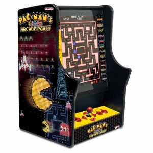 Pac-Man's Arcade Party Bar Top Video Game Machine | moneymachines.com