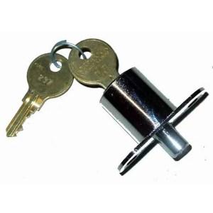 Push Style Plunger Action Cabinet Lock For Crane Game Machines | moneymachines.com