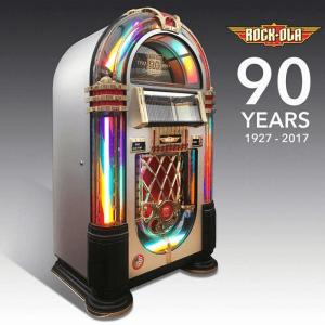 Rock-Ola 90th Anniversary CD Bubbler Jukebox | moneymachines.com